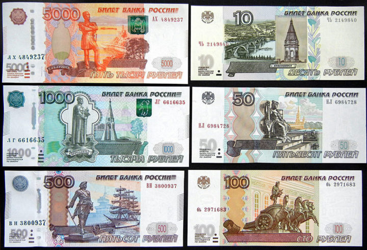 Курс рубля к тенге